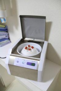 札幌市豊平区 たく歯科 CGF作成専用遠心分離機 メディフュージ