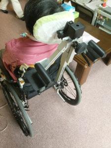 札幌市豊平区 たく歯科 車いす用安頭台